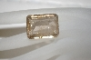 Emerald Cut Rutilated Quartz Stone