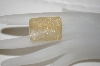 Golden Emerald Cut Rutilated Quartz Gemstone