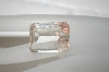 Clear Emerald Cut Rutilated Quartz