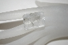 "MBA #23-194   ""Emerald Cut  Faceted Quartz Gemstone"