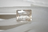 Emerald Cut Quartz Gemstone