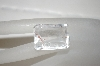 "MBA #23-232   ""Emerald Cut Clear Quartz Stone"