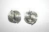 Lisner Silver Tone Clip On Earrings