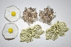 **MBA #S4-131  3 Pairs Vintage Clip On Earrings