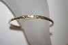 **MBA #S4-223  Vintage Designer Stamped Bangle