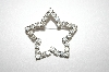 **MBA #25-680  Avon Clear Rhinestone Star Pin