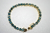 "**MBA #6-1452  ""18K Vermeil London Blue Topaz Bracelet"