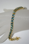 **MBA #6-1448  18K Vermeil London Blue Topaz Bracelet