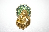 **MBA #6-0980   Avon Gold Tone Enameled Pin