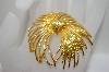 **MBA #6-1045   Monet Large Gold Tone Pin