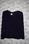 **Citiknits Solid V-Neck Long Sleve Top