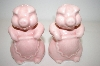 "** Vintage ""Pink"" Pig Salt & Pepper Shakers"