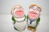 ** Vintage Singers Salt & Pepper Shakers