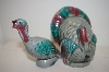 ** Green Turkey Salt & Pepper Shakers