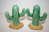 **  Ceramic Cactus Salt & Pepper Shakers
