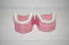 **1981 Pink Teeth Salt & Pepper Shakers