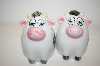 "** Vintage ""Cows"" Salt & Pepper Shakers"