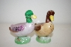 "** Vintage ""Duck"" Salt & Pepper Shakers"