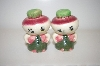 "**Vintage ""Turnip"" Salt & Pepper Shakers"