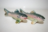 **Vintage Trout Salt & Pepper Shakers