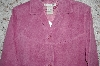 "MBA #33-225  ""Pink Jessica Holbrook Machine Washable Suede Fully Lined Jacket"