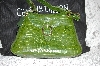"**MBA #34-153   ""Leaf Green Charlie Lapson ""Victoria"" Hand Bag"