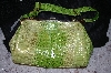 "**MBA #34-123   ""Lime Green Charlie Lapson ""Emilia"" Hand Bag"