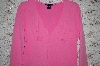 **Pink Boston Proper V-Neck Stretch Top