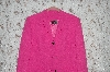 "**MBA #36-029   ""Fuschia G. Essentials 3 Button Blazer"