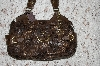 "**MBA #36-074   ""Brown Charlie Lapson ""Firenze"" Hand Bag"