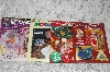 Set Of 4 Glass & Mosaic Craft Work Books