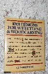 "1979  ""1001 Designs For Whittling & WoodCarving"""