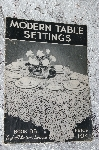 1937 Modern Table Settings  Book #88