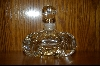 **Elegant Clear Crystal Perfume Bottle