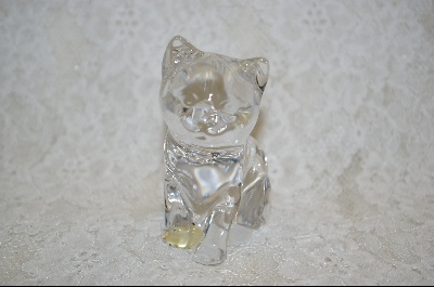 "**MBA #S-LCC   ""Lead Crystal Cat"""