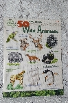 "1998 ""50 Wild Animals"" Cross Stitch"