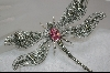 "**MBA #PDF   ""Large Sterling Marcasite DragonFly Pin"