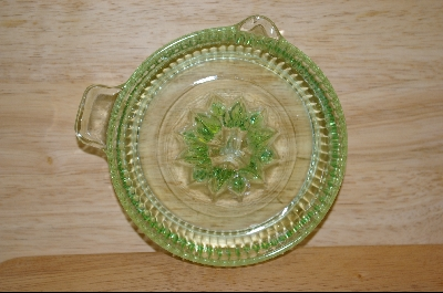 **Anchor Hocking Green Glass Reamer #4699