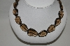 "**MBA #54-002  14K Yellow Gold 20"" Smokey Quartz Necklace"""
