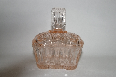 **Vintage Light Pink Glass Vanity Or Candy Dish ?