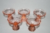 **MBA #272 Set Of 5 Fancy Bar Glass's