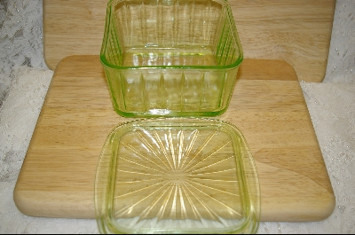 **Hocking Panelled Refrigerator Dish #4853