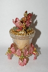 """SOLD""  Kirks Folly Crystal Dream ""Iris Fairy"" Candle Holder With Candle"
