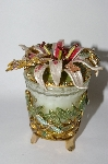 "+MBA #57-285  ""Kirks Folly ""Stargazer Dragonfly"" Candle Holder With Scented Candle"