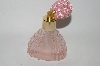 **Vintage Pink Glass Atomizer