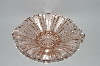 +MBA #57-026  Vintage Fancy Pink Glass Candy Dish