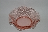 +MBA #57-010  Vintage Pink Depression Glass Candy Dish