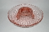 **Vintage Large Pink Depression Glass Console Bowl