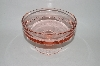 +MBA #59-199  Vintage Round Pink Depression Glass Candy Dish