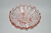 +MBA #59-088  Vintage Pink Depression Glass Small Footed Candy Dish